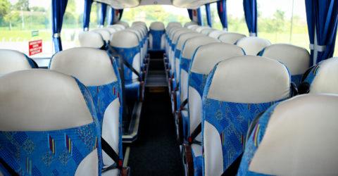 Interior of 51-Seater Davian Executive Coach