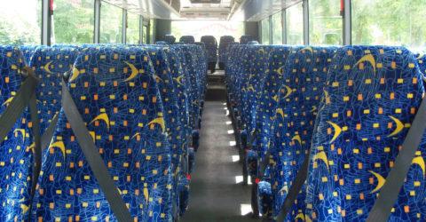 Interior of 70-Seater Davian Coach